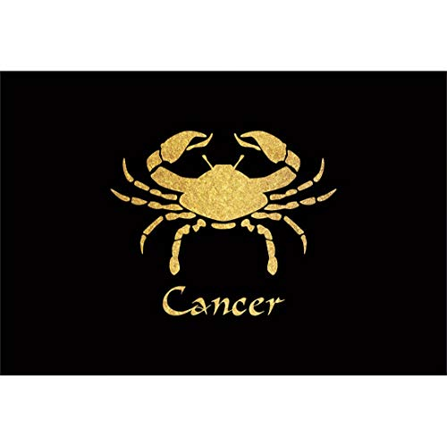 Yeele 8x6ft Horoscope Photography Background Cancer Astrology Golden