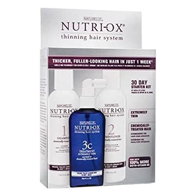 Nutri-ox 30 Day Kit for Extremely Thin Chemically Treated Hair Loss Treatment Fast Shipping by Hair Care