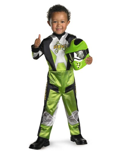 Motocross Costume For Kids (Disguise Lil' Motocross Rider Boys Costume, 4-6)