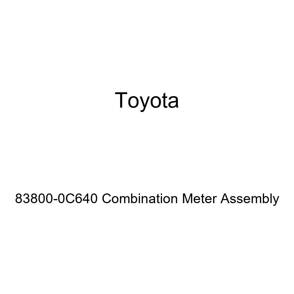 TOYOTA Genuine 83800-0C640 Combination Meter Assembly