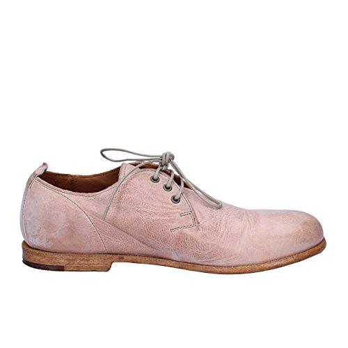 Para Mujer Zapatos De Cordones Rosa Moma Piel wdIX6Xq