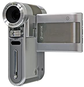 Aiptek A-HD Pro 1080P High Definition Camcorder (Silver) (Discontinued by Manufacturer)