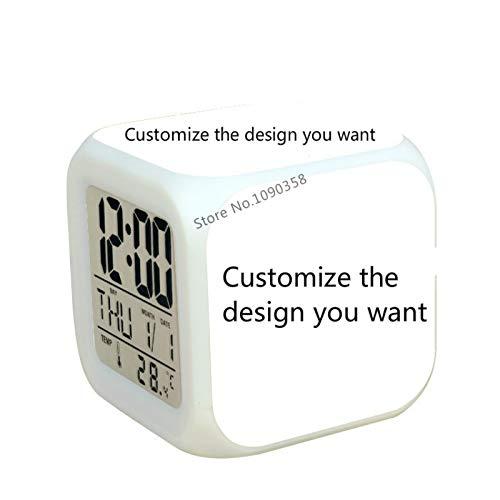 Amazon.com: Capcha-Shop - New Super mario bros Kids wekker digital Alarm clock led Alarm clock wake up light reveil table clock reloj despertador: Home ...