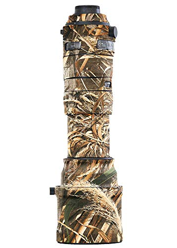 LensCoat Camouflage Neoprene Camera Lens Cover Protection Sigma 150-600mm F/5-6.3 DG OS HSM Sports, Realtree Max5 (lcs150600sm5)