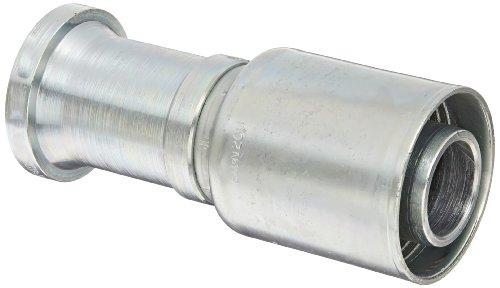Nominal Flange - Eaton Weatherhead Coll-O-Crimp 20U-G20 Split Flange Straight Fitting, Steel, 1-1/4