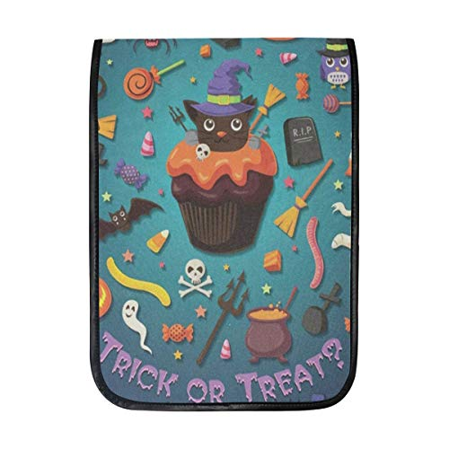 Ipad Pro 12-12.9 inch Sleeve Case Bag for Surface Pro Vintage Halloween with Cupcake Mac Protective Carrying Cover Handbag for 11