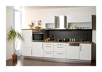 Mebasa MCZL900BW Küche, Hochwertige Küchenzeile, Design Küchenblock ...