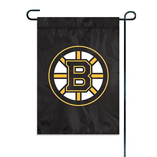 Party Animal NHL Boston Bruins Garden Flag