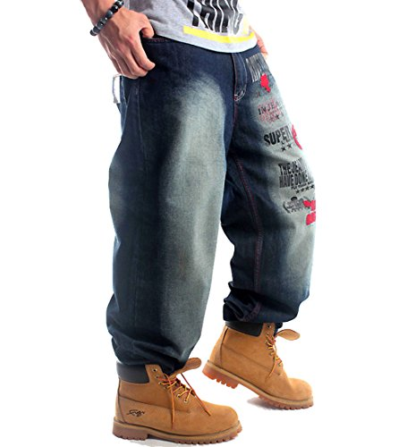 Loose Baggy Jeans - 7