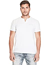 Men's Conrad Layered Slit-Neck Tee