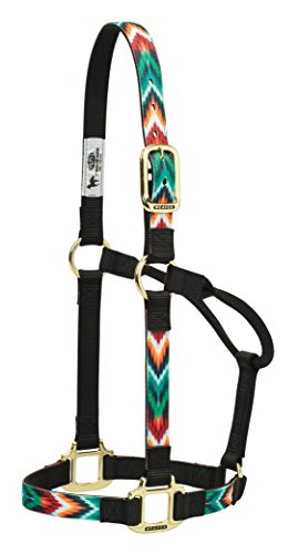 Weaver Leather Chevron Non-Adjustable Nylon Horse Halter, Average, ()