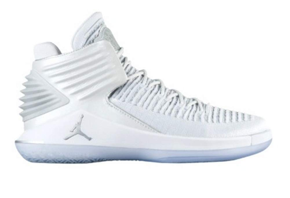 35672ddad87a Galleon - NIKE Men s Air Jordan XXXII Mid Basketball Shoes Pure Platinum  Size 10.5