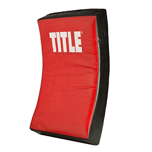 (TITLE Classic Punch & Body Shield, Red/Black, Adult)