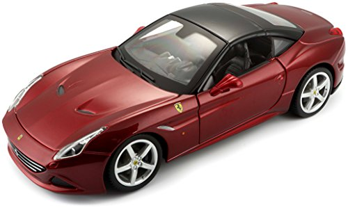 Bburago 1:24 Scale Ferrari Race and Play California T (closed top) Diecast Vehicle (Colors May Vary)
