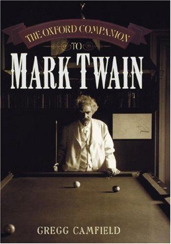 The Oxford Companion to Mark Twain ebook