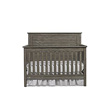 Fisher-Price Quinn 4-in-1 Convertible Crib, Vintage Grey (137001-19)