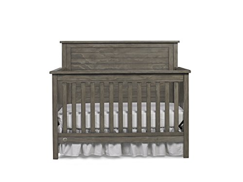 (Fisher-Price Quinn 4-in-1 Convertible Crib, Vintage Grey)