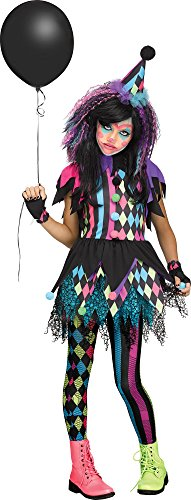 Twisted Circus Child Clown Costume -