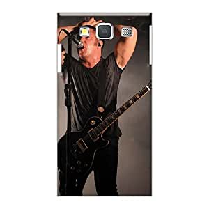 Shock Absorbent Cell-phone Hard Covers For Samsung Galaxy A5 (UKA9854cXwH) Customized Trendy Nine Inch Nails Band Pictures