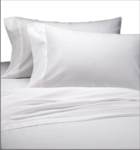 36 NEW WHITE STANDARD PILLOW CASES COVERS T-130 MUSLIN by Shiro store