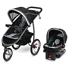 Graco's first jogger is the ultimate crossover stroller, combining all the comfort & convenience features of a traditional stroller with the performance & maneuverability of an all-terrain jogger. This stroller is loaded with innovati...