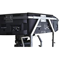 GTR Simulator GTA Triple Monitor Stands - Large 3 x 39 - Black Color