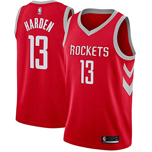 (#13 James Harden Houston Rockets Swingman Jersey Red - Icon Edition M)