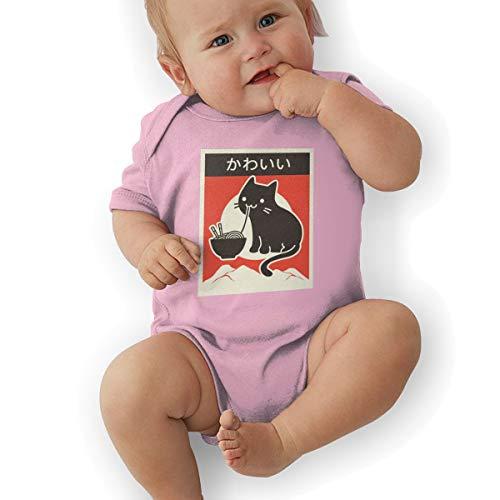 Kawaii Vintage Style Japenese Ramen Cat Baby Suits