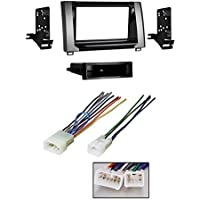 Metra 99-8252 Single/Double DIN Stereo Install Dash Kit for 14-up Toyota Tundra With Harness