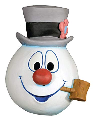 Frosty the Snowman Full Adult Costume Mask Frosty ()