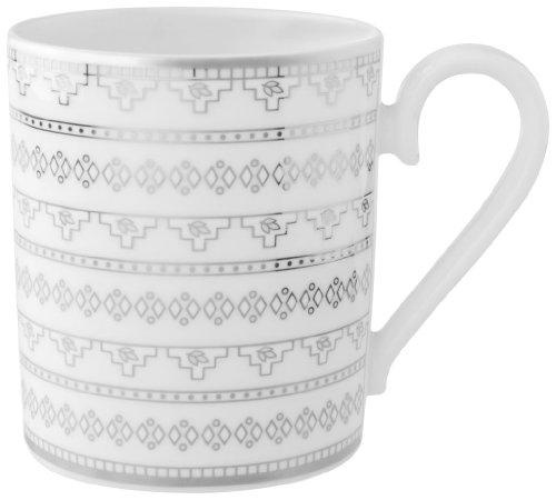 Villeroy & Boch White Lace 11-3/4-Ounce Mug ()