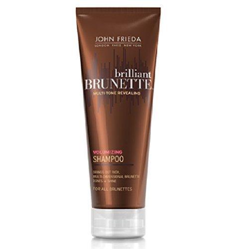 Brilliant Brunette Volumizing Shampoo with Enriching Technology By John Frieda Shampoo, 8.45 Ounce