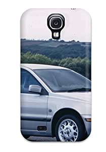 Best Galaxy S4 Case Cover - Slim Fit Tpu Protector Shock Absorbent Case (volvo S40 17) 2951157K16296274