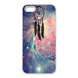 Qxhu Dream Catcher Nebula Hard Plastic Cover Case for Iphone5,5S