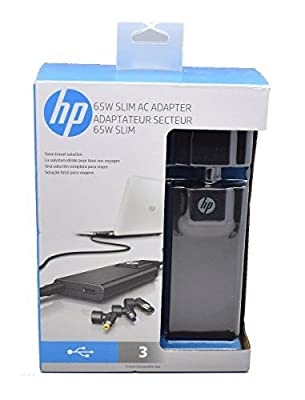 HP 65W Slim with USB AC Adapter Model G6H47AA#ABA