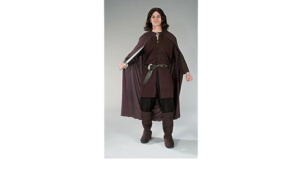Para hombre túnica de Aragorn de El Señor de los anillos disfraz ...