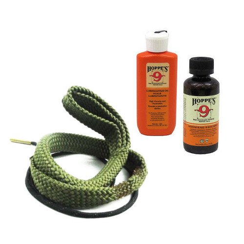 (Westlake Market 9mm Quality Gun Cleaning Bore Snake, Bore Cleaner and Lube Oil Also .357.38.380 Caliber)