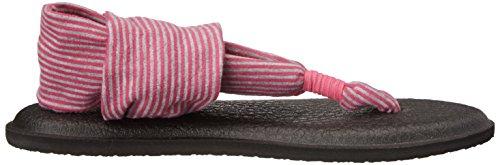 Stripes Burst Sanuk Yoga Y Women's Sling Purple Fuchsia 606HO