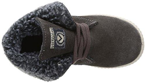 Victoria Safari Serraje Alta, Unisex - Kinder Stiefel & Stiefeletten Grau - Gris (Pizarra)