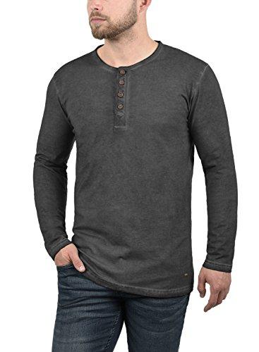 tunecina hombre larga Timur de para manga Solid 100 camiseta algod TxwEqXSU0