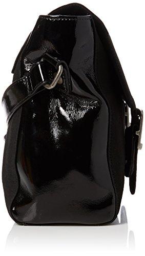 Fly London Dali589fly - Borse a secchiello Donna, Black, 6x27x30 cm (W x H L)