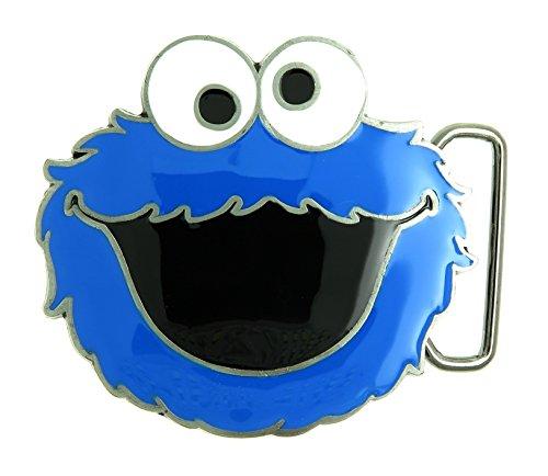 (Sesame Street Cookie Monster Belt Buckle)