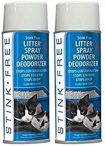 Amazon Com Stink Free Cat Litter Box Deodorizer Powder