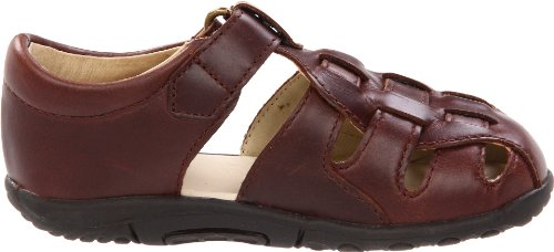 Stride Rite SRTech Harper Fisherman Sandal (Infant/Toddler), Brown, 3 W US Infant - Image 6