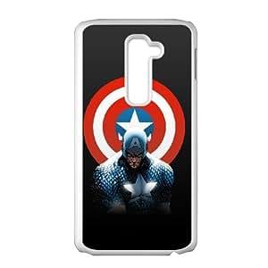 LG G2 Phone Case for Captain America pattern design