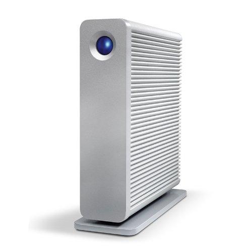 LaCie d2 Quadra USB 3.0/2.0 FireWire800 eSATA Desktop Hard Drive 6TB STGJ6000400