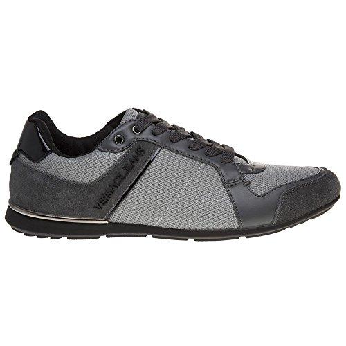 Versace Jeans Tommy Herren Sneaker Grau Grau
