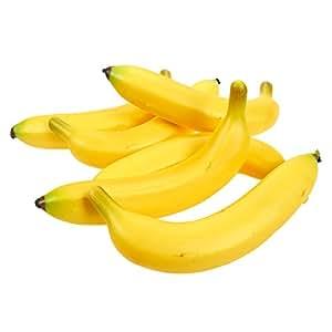 Juvale set de frutas artificiales 6 pl tanos de for Plastico para lagunas artificiales