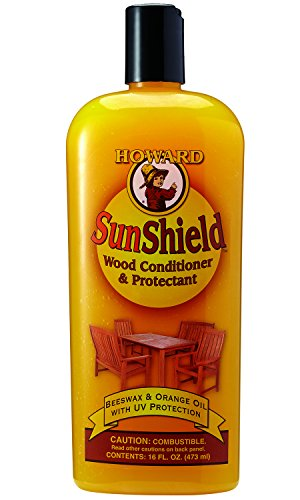 Howard SWAX16 SunShield Outdoor Furniture Wax with