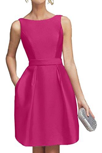 Braut Mini Brautjungfernkleider La Lemon Partykleider Promkleider Pink Kurzes Abendkleider Neu Cocktailkleider mia Gruen 5HHxqFZz